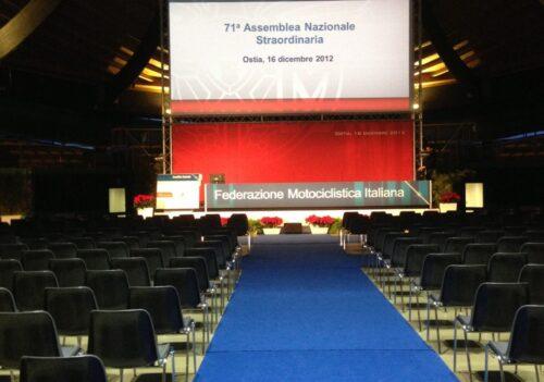Assemblea Nazionale Straordinaria & Assemblea Nazionale Ordinaria 2012 della Federazione Motociclistica Italiana
