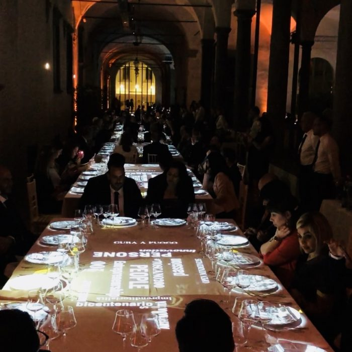 2018 - LUCCA - BICENTENARIO MANIFATTURE SIGARO TOSCANO - TABLE MAPPING