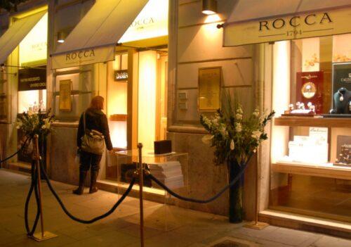 Organizzazione per l'evento Rolex / Rocca 1974