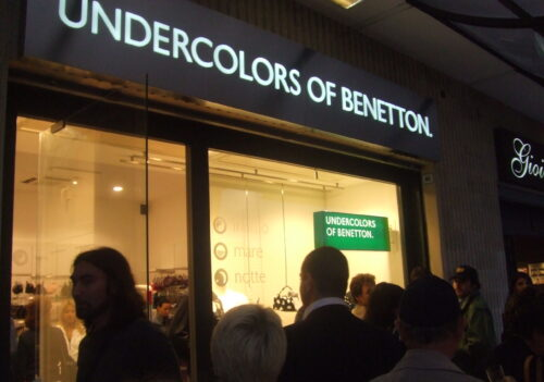 United Colors of Benetton 2006 – Roma – Opening flag store Rome.