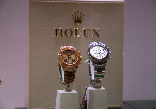 Rolex 2010 – Roma – Organizzazione, allestimenti e catering evento ''Rolex in mostra''.