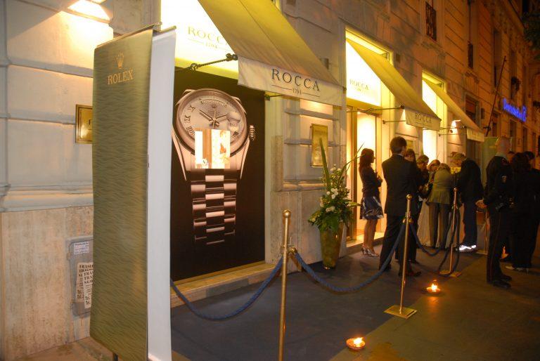 Damiani 2010 – Roma – Presentazione evento, sfilata in store e finger food.