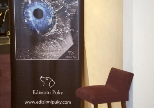Edizioni Puky 2011 – Roma – Presentazione del libro ''La pelle dell'acqua''.