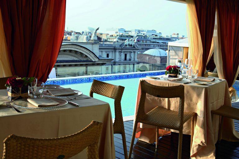 """Boscolo Hotels2007 / 2008 –Roma, Firenze, Venezia, Milano – Campagna di co-branding adv """"Boscolo gift/Amex""""."""