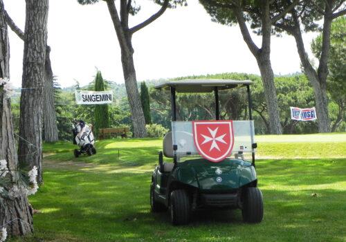 """Ordine dei Cavalieri di Malta 2010 – Roma – """"Torneo Benefico di golf e burraco""""."""
