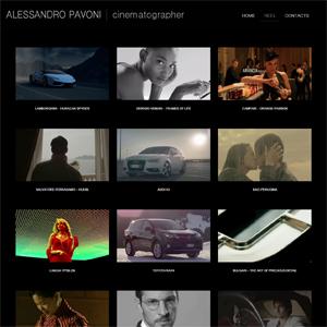 Online il sito di Alessandro Pavoni Cinematographer