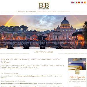 Basilica Square il nuovo sito realizzato da AdHocs.it