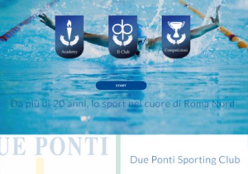 Online il nuovo sito per il circolo sportivo Due Ponti