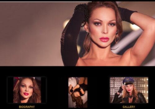 on line www.krisztinrus.com, il nuovo sito ideato e realizzato per Krisztin Rus