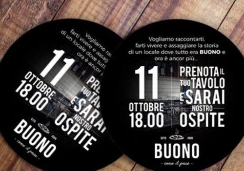 Riapertura di Buono, special dj set,free food, free bar.