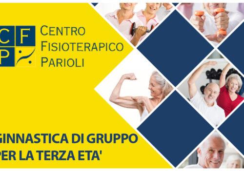 Centro Fisioterapico Parioli – ginnastica di gruppo per la terza età