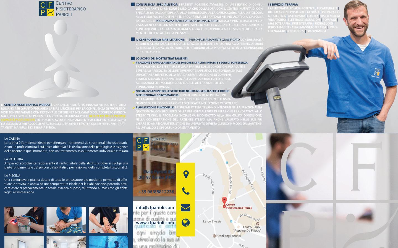 Nuova brochure per Centro Fisioterapico Parioli