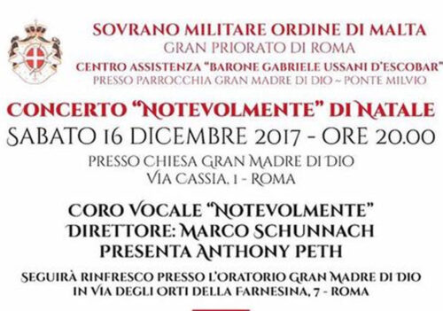 """Concerto """"Notevolmente"""" e Mercatino di Natale"""