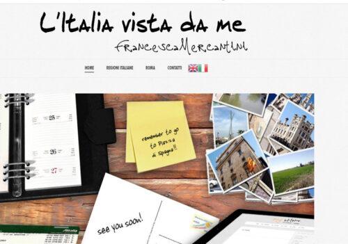 Il nuovo sito di Francesca Mercantini