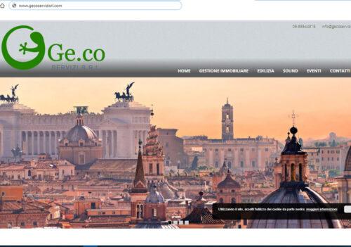 On line il nuovo sito della Geco Servizi