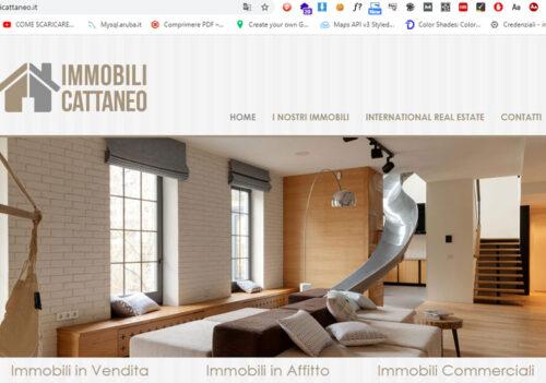 On line il nuovo sito web www.immobilicattaneo.it