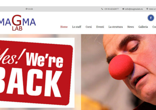Online il sito www.magmalab.eu