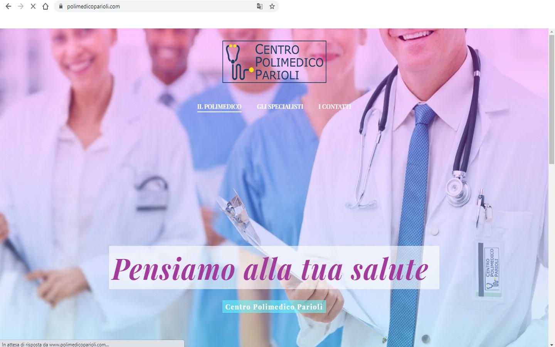 On line il nuovo sito web del Centro Polimedico Parioli