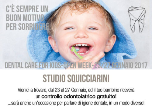 Studio dentistico Squicciarini – dental care for kids