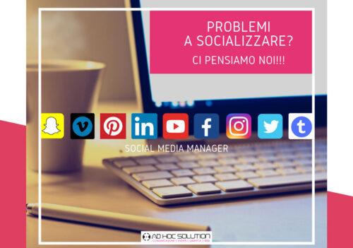 Ad Hoc Solution – Social Media Manager