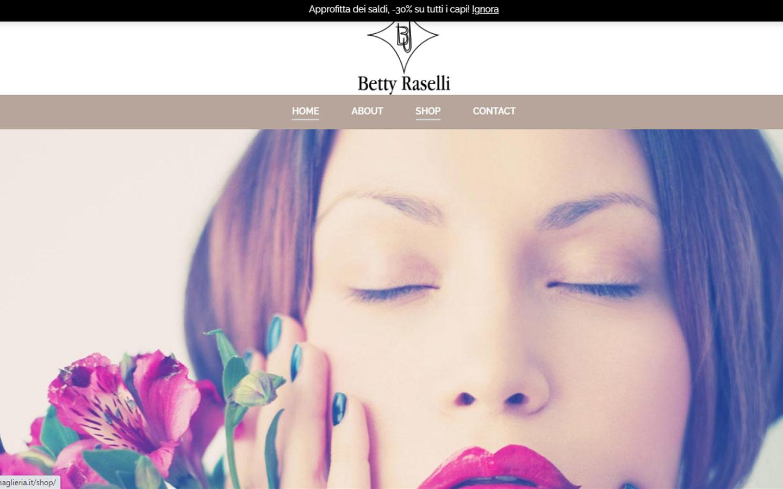 Creazione logo e la realizzazione del sito internet www.bjmaglieria.it