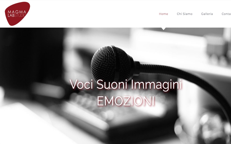 Online il sito www.magmalabstudio.it.