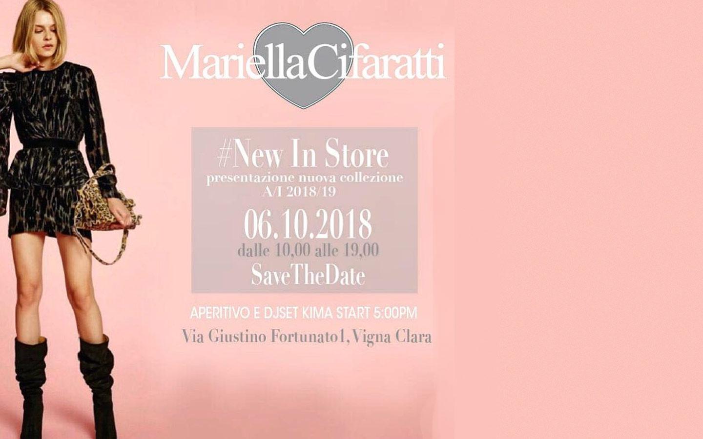 Mariella Cifarati – New in Store