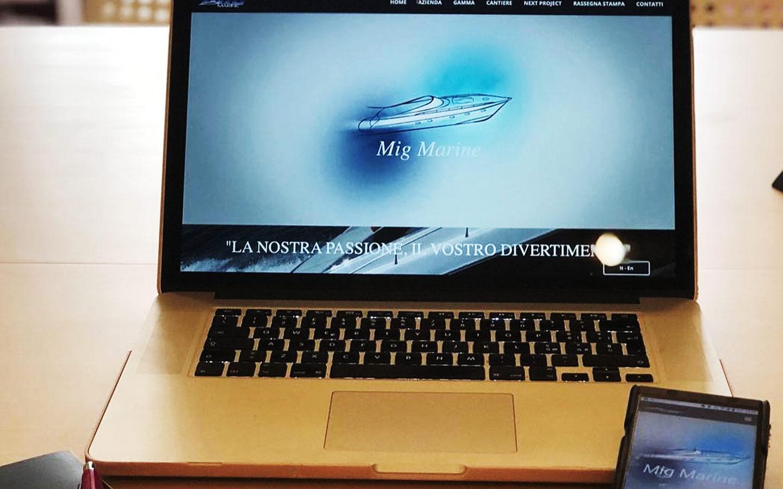 Vi presentiamo il sito web che abbiamo realizzato per Mig Marine!