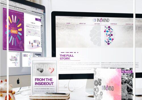 Attività di web e grafica a 360° per InEmind